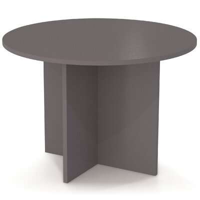 3 6 Circular Conference Table Finish: Slate