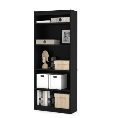 72 Standard Bookcase Finish: Black