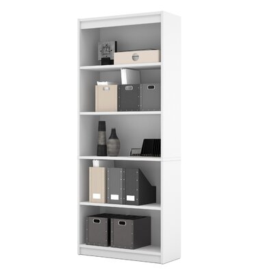 72 Standard Bookcase Finish: White