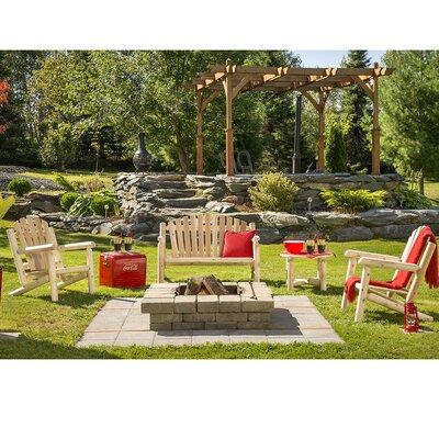 Cedar Classic 4 Piece Bench Seating Group