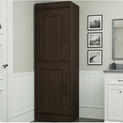 St. Marks Place Storage 25 W Freestanding Closet System Finish: Dark Chocolate