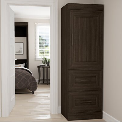 St. Marks Place Storage 25 W Closet System Finish: Dark Chocolate