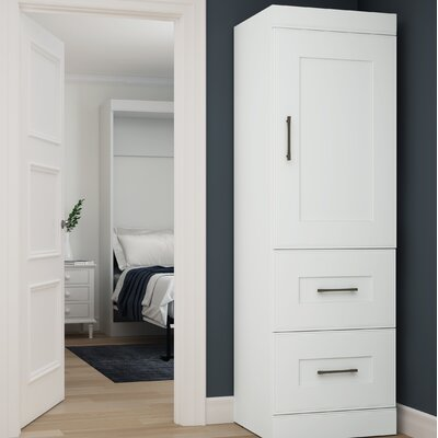 St. Marks Place Storage 25 W Closet System Finish: White