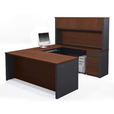 Prestige + U-Shape Desk with Hutch Product Picture 6583