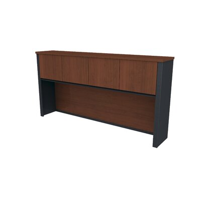 Bestar Prestige + Hutch For Credenza - Finish: Chocolate at Sears.com