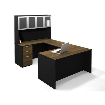 Pro-Concept U-Shape Desk with Hutch Product Picture 7333
