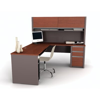 Connexion L-Shaped With Hutch Workstation Kit Product Image 3233