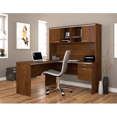 L Shape Executive Desk Office Suite Flare Product Picture 404