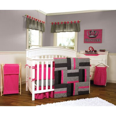 Trend Lab Serena - 3 Piece Crib Bedding Set