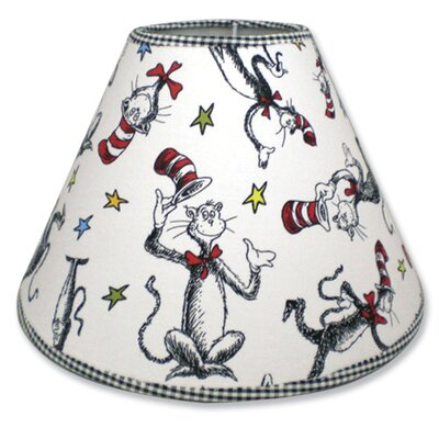 Dr. Seuss Cat in the Hat 7 Cotton/Polyester Empire Lamp Shade