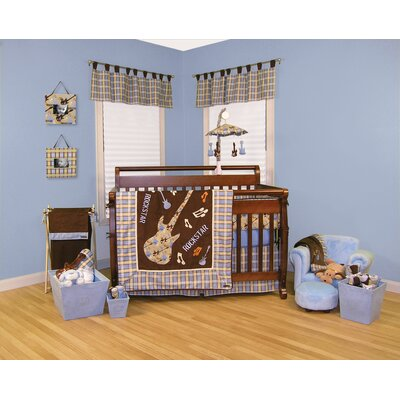 rock star crib set