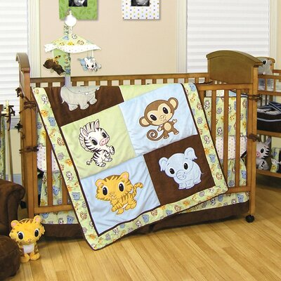 Camping Bedding  on Trend Lab Chibi Zoo 4 Piece Crib Bedding Set   Wayfair