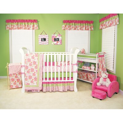 Hula baby four piece crib bedding set reviews best price for Best value baby crib