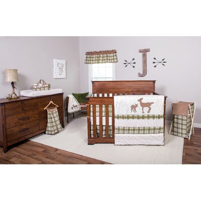 Deer Lodge 3 Piece Reversible Coverlet Set