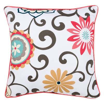 Pom Pom Play Cotton Throw Pillow