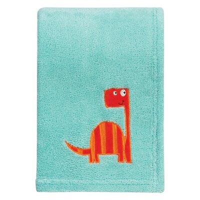 Dinosaur Roar Polyester Baby Blanket
