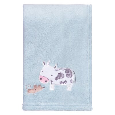Farm Stack Polyester Baby Blanket