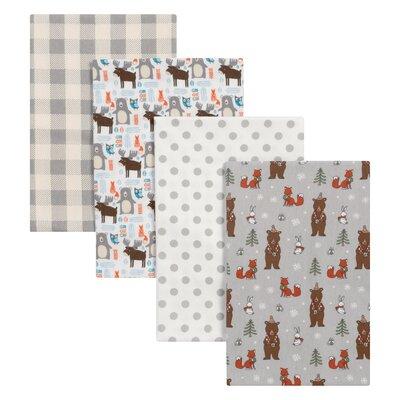 Scandi Cocoa Polyester Blanket Set