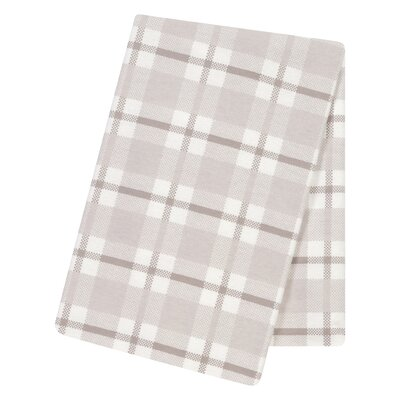 Plaid Receiving Blanket
