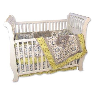 Piece Crib Sets on Monaco 4 Piece Crib Bedding Set   106439