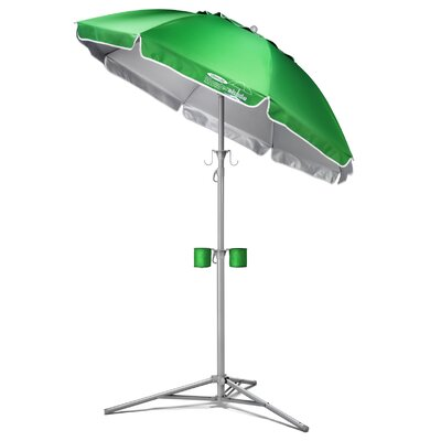 5 Ultimate Wondershade Beach Umbrella Fabric: Green