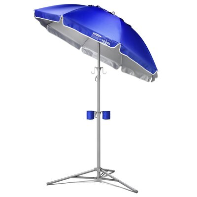 Maranda Enterprises 5' Ultimate Wondershade Beach Umbrella - Fabric: Royal Blue at Sears.com