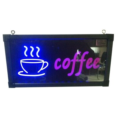 Coffee with Cup Sign