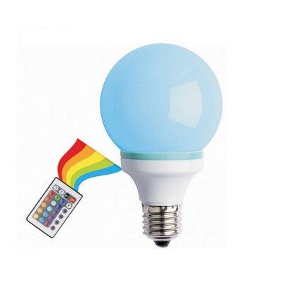 1W Multi-Colored LED Light Bulb