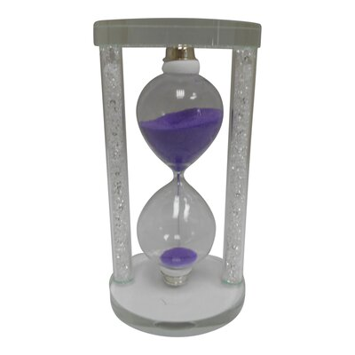 Sand Timer Hourglass Color: Purple