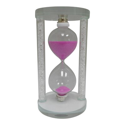 Sand Timer Hourglass Color: Pink