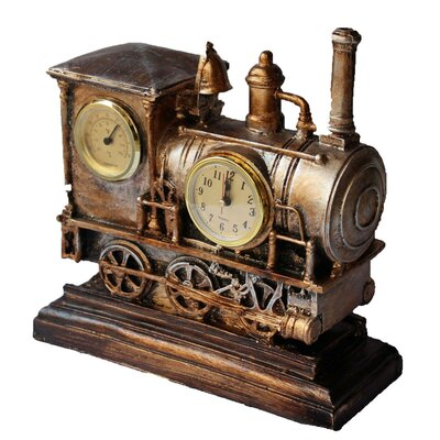 Steam Train Clock