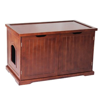Kitty Litter Box Color: Walnut