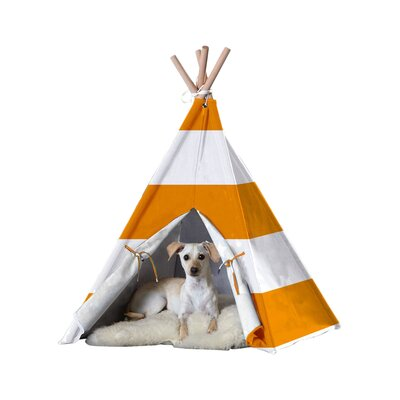 Brewster Teepee Dog Bed Size: Large (39.96 L x 39.96 W)