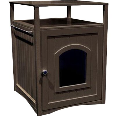 Allen Litter Box End Table Color: Espresso