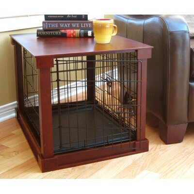 "Merry Products Deluxe Wood and Wire Dog Crate - Size: Large (42"" L x 28"" W x 30"" H) at Sears.com"