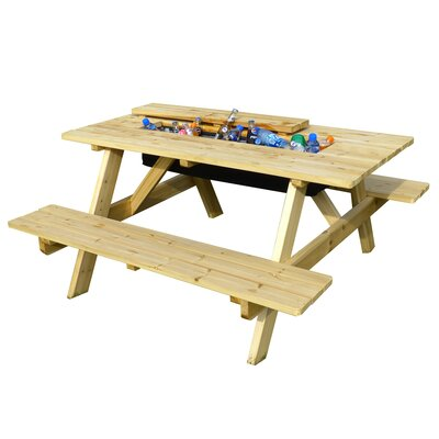 Cooler Picnic Table