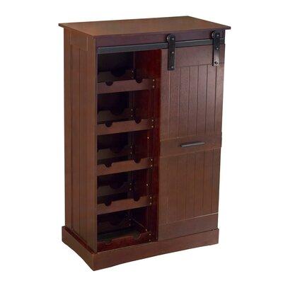 Kerri 12 Bottle Floor Wine Cabinet