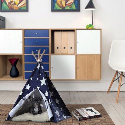 Carly Teepee Dog Bed Size: Medium (29.92 L x 29.92 W)