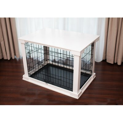 Pet Crate End Table Size: Large