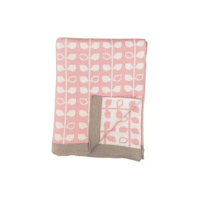 Baby Leaf Baby Blanket Color: Pink BBC-5082-8030