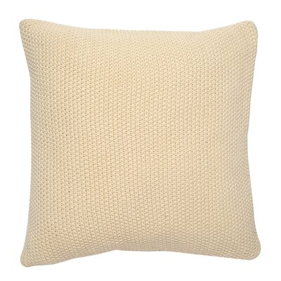 Moss Cushion Cotton Throw Pillow Color: Natural