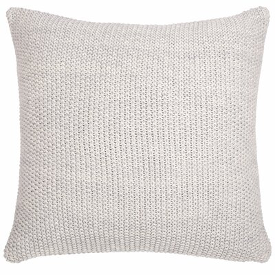 Motley Moss Pillow Cover Color: Soft Gray Melange/Natural