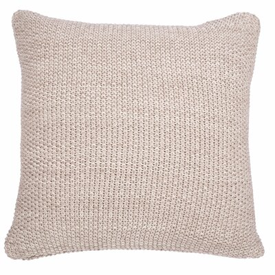 Motley Moss Pillow Cover Color: Stone/Natural