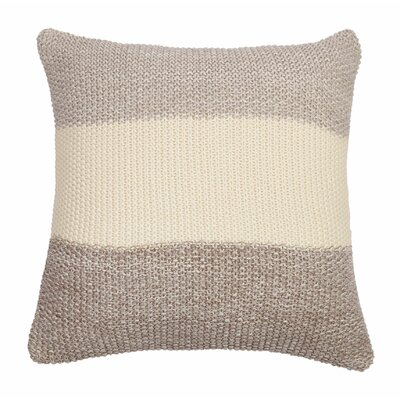 Marl Moss Stripe Pillow Cover Color: Warm Gray/Natural Stone