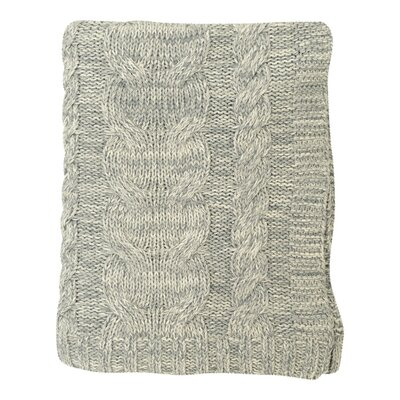 Chunky Braid Cotton Throw