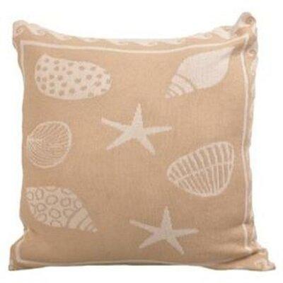 Sea Shell Cotton Throw Pillow