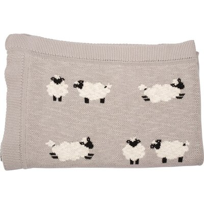 Sheep Thick and Thin Cotton Blanket