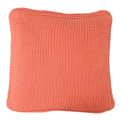 Harmony Cotton Throw Pillow Color: French Pink