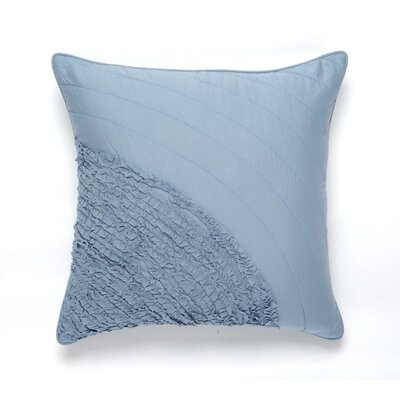 Water Cotton Pillow Cover Color: Blue