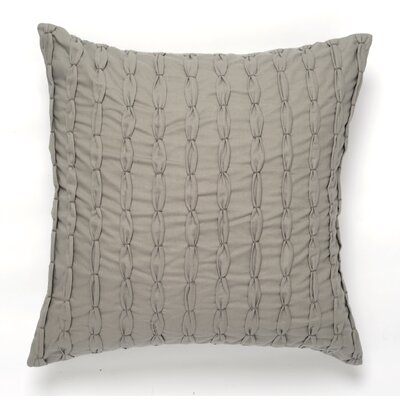 Knot Cotton Pillow Cover Color: Gray